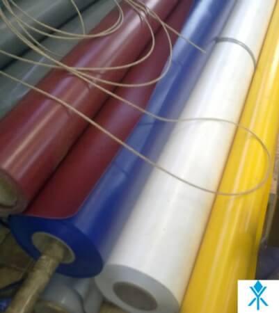 Тент материал армированный с ПВХ покрытием